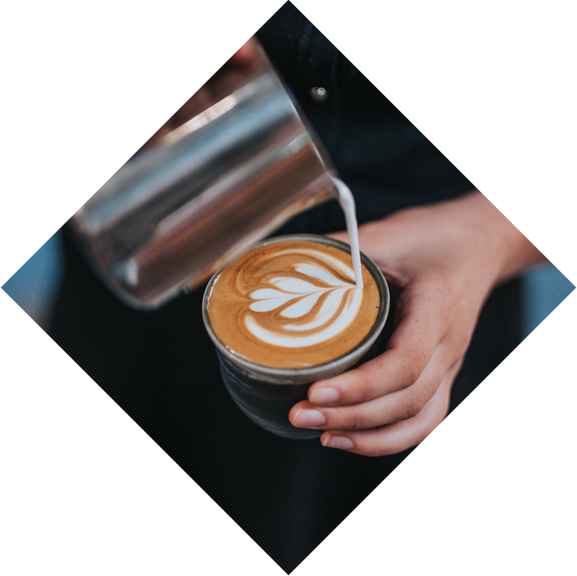 Online booking system for Barista training courses