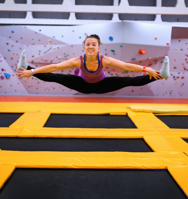 Online booking system for Trampoline Centres