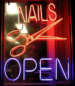 Nail and Beauty Salon Appointment Booking software